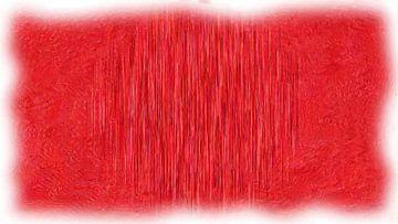 Abstrakt rot von Maurice Dawson