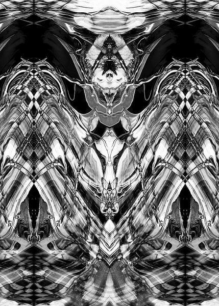 BLACK & WHITE CURIOSITY v1 van Pia Schneider