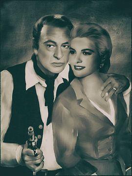 Légendes -Grace Kelly et Gary Cooper sur Christine Nöhmeier