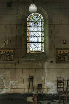 Een verlaten kerk ergens in Belgie  van Melvin Meijer