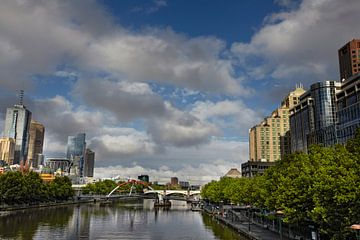 Melbourne, la ville la plus agréable à vivre au monde, État de Victoria, Australie sur Tjeerd Kruse