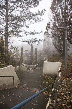 Laat in de herfst in Hamburg 3 van Marc Heiligenstein