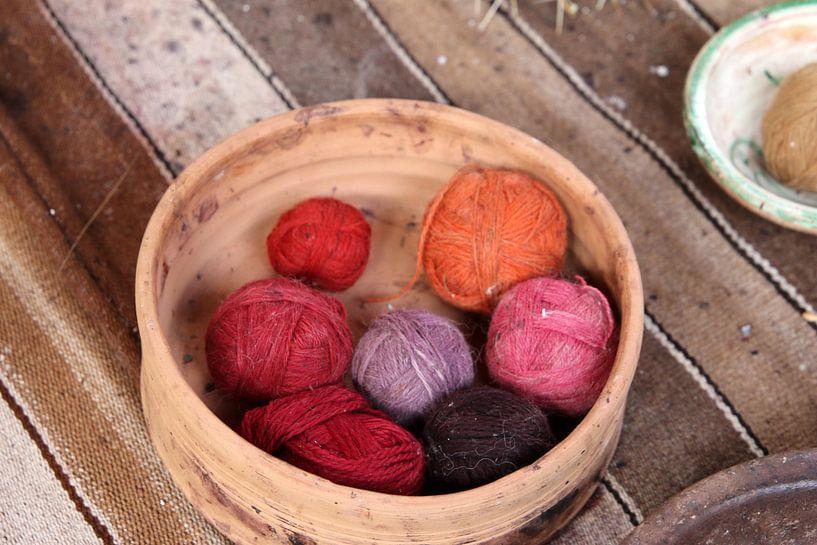 bolletjes wol  van laura van klooster