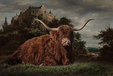 Schottischer Highlander 2 von Lisette van Peenen