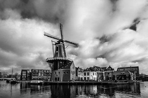 De Adriaan in Haarlem van