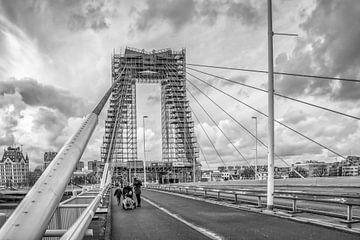 Willemsbrug Rotterdam von Julienne van Kempen