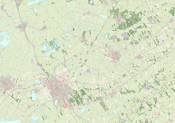 Kaart vanHeerenveen