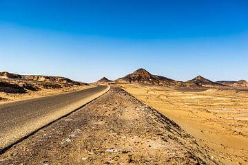 Zwarte Woestijn Egypte sur