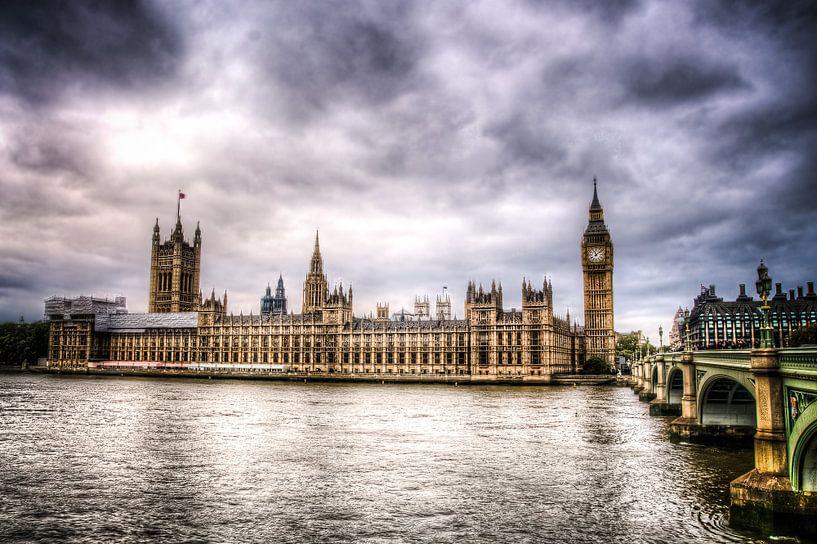 Palace of Westminster, Londen van Michiel ter Elst