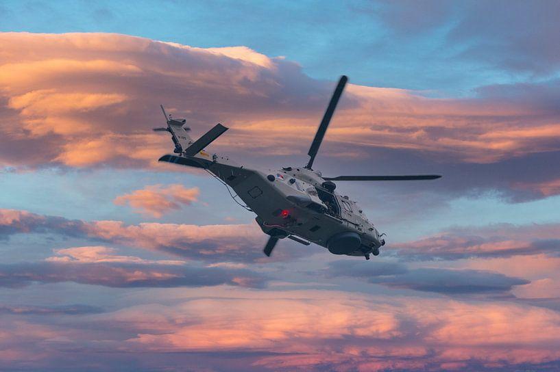NH90 Helicopter van de Nederlandse Luchtmacht van Brian Morgan