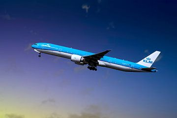 KLM PH-BVO, Boeing 777-306(ER), Tijucana National Park von Gert Hilbink
