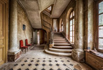 Treppenhaus im Schloss von Kelly van den Brande