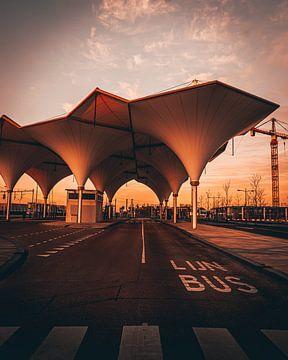 Gare routière d'Utrecht Leidsche Rijn sur de Utregter Fotografie