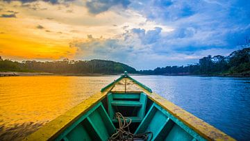 Ochtend in de Amazone van Alex Bosveld
