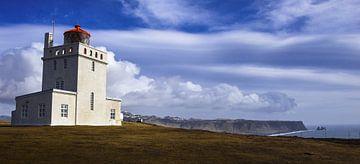 Leuchtturm Island von Jonathan Verhoeven