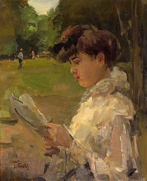 Meisje dat leest, Isaac Israëls...