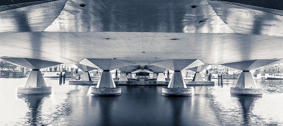 Torontobrug Amsterdam van Wesley Flaman