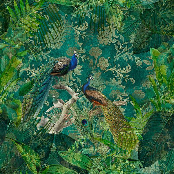 Peacock Jungle van Andrea Haase