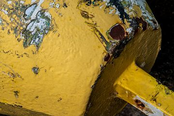 Roestig Baken in geel en groen van Alice Berkien-van Mil