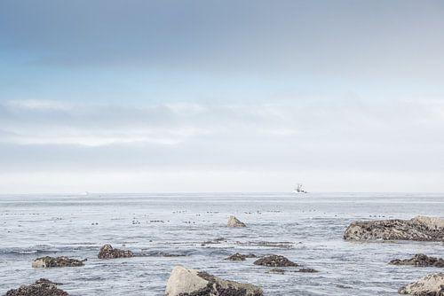 vergezicht op zee