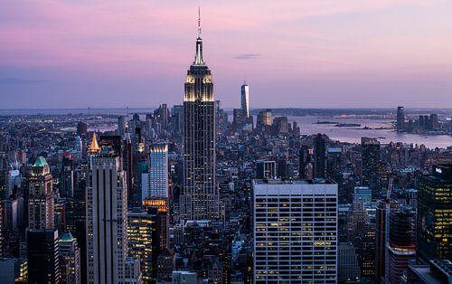 New York City Skyline II van