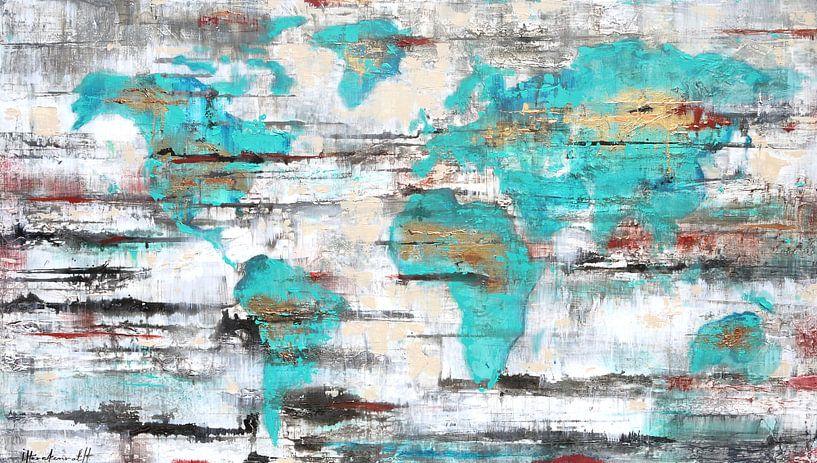 Worldmap van Atelier Paint-Ing