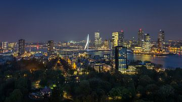 Rotterdam Skyline von Edwin Mooijaart