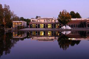 Roeivereniging Triton aan het Merwedekanaal in Utrecht