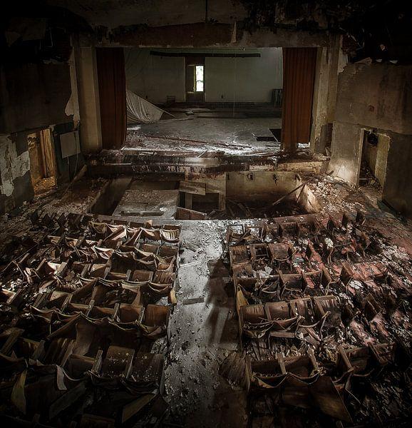 Cinema Urbex van Olivier Photography