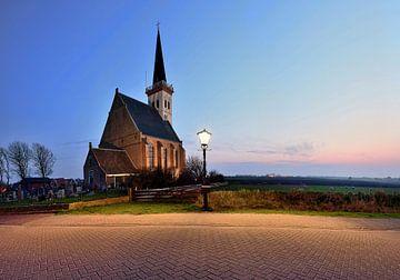 Kerkje Den Hoorn Texel van John Leeninga