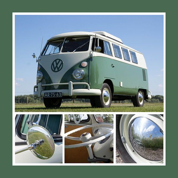 Volkswagenbusje van Jolanda van Eek