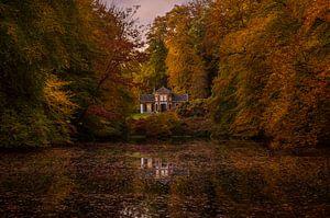 wonen tussen de herfstkleuren