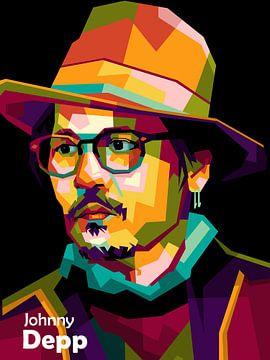 Johnny Depp wpap van miru arts