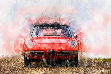 1968 Alfa Romeo Spider 1300 Duetto von Theodor Decker