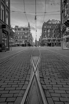 Leidsestraat Amsterdam van Peter Bartelings Photography