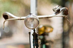 Oude fiets van