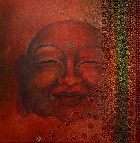 Happy Boeddha von Helma van der Zwan