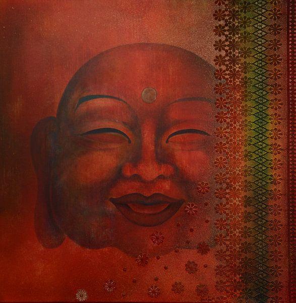 Happy Boeddha sur Helma van der Zwan