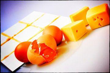 Boter kaas en eieren - 1 van Margriet Cloudt