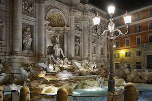Der Trevi-Brunnen in Rom
