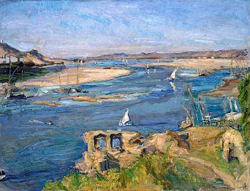 Nijl bij Aswan - Max Slevogt, 1914 van Atelier Liesjes