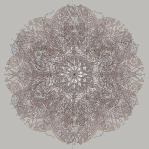 Kaleidoscoop, taupe