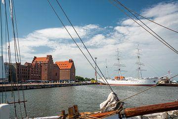 Hafen von Stralsund, Deutschland von Rietje Bulthuis