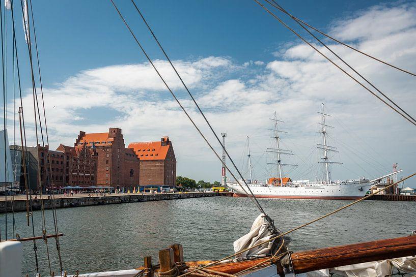 Haven van Stralsund, Duitsland van Rietje Bulthuis