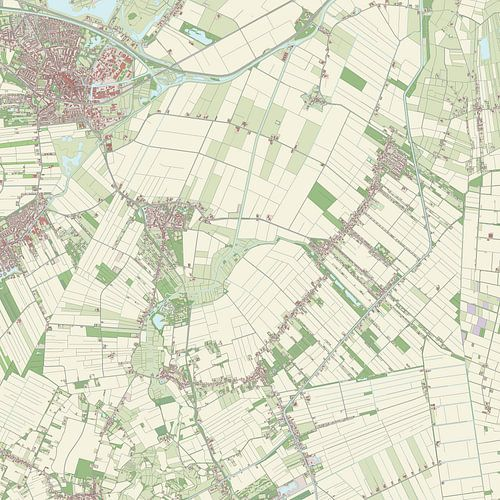 Kaart vanBellingwedde