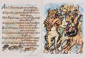 Reinecke Fuchs. LOVIS CORINTH, Goethe, 1921 von Atelier Liesjes