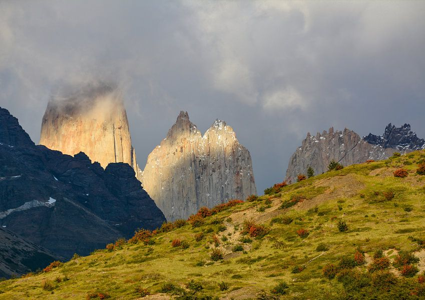 Torres del Paine van Max Steinwald