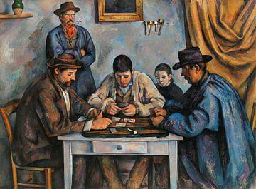 Kartenspieler, Paul Cézanne (ca. 1890-1892)