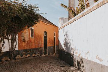 De straten van Faro, Algarve Portugal