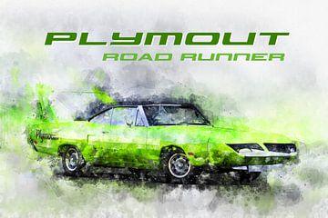 Plymouth Road Runner 1970 von Theodor Decker